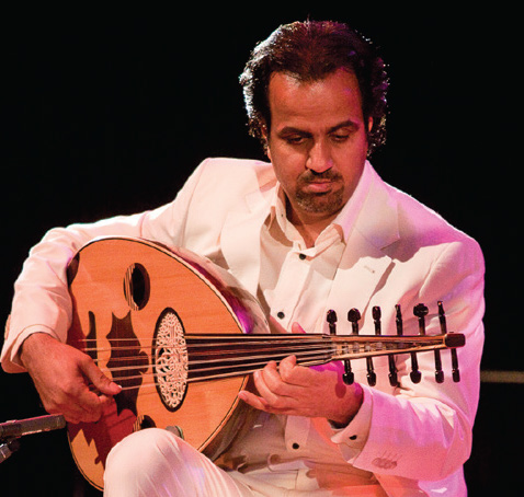 Ahmed Mukhtar, Iraki virtuoso udist invited for a workshop/demo in Beirut by CERMAA/FOREDOFICO